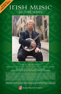 irish events poster - mick moloney
